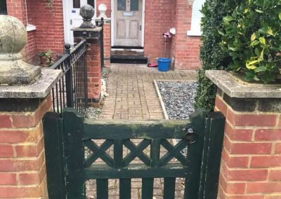 Door and Gate before
